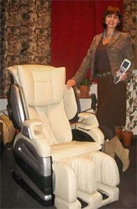 массажное кресло Fujiiryoki CYBER-RELAX SKS-1850