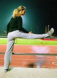 Фитнес растяжка мышц